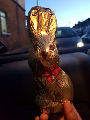 Large Chocolate Easter Bunny - Asda £1 (found instore - Croydon)