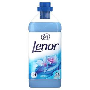 Lenor fabric conditioner 1.1 litre bottle on offer for 2.00 at Asda or 1.25 with topcashback