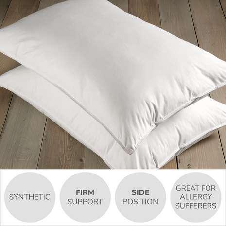 Dorma Full Forever Firm-Support Pillow Pair £14.40 @ Dunelm