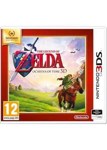 TLOZ Ocarina of Time 3D selects £12.99 @ Base (delivered)