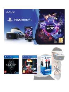 PlayStation VR with motion controllers, Skyrim VR and Superhot - £296.10 @ Very