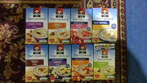 Quaker Oats Various Variety - any 2 for £3 @ Morrisons (online & instore)
