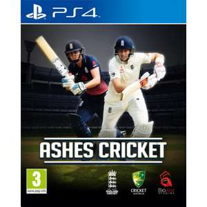 Ashes Cricket PS4 / XBOX One £14.95 delivered @ The Game Collection