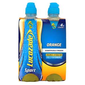 (4x500ml) Lucozade Sport Orange £1.75 @ Tesco