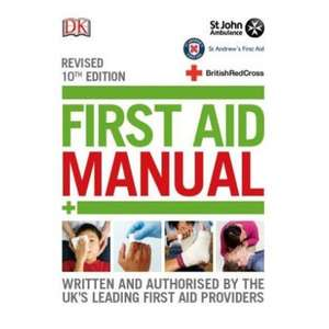 British Red Cross , First Aid Book £9.99