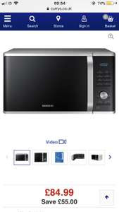 SAMSUNG MS28J5215AS Solo Microwave - Silver £84.99 @ Currys
