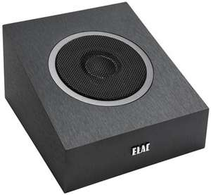 ELAC Debut A4 Black Brushed Vinyl Dolby Atmos Speakers (Pair) £199 w/code @ AudioVisual Online