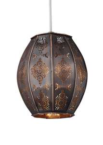 Marrakesh copper easy fit light shade £9 was £18 @ matalan,free c+c