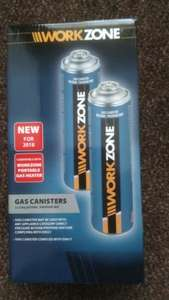 Disposable canister of gas instore at Aldi for £1.99