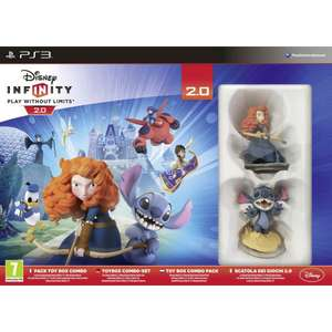Disney Infinity 2.0 PS3 Starter Pack now £4 C+C w/code at The Works (code takes 20% Off £5 Spend)