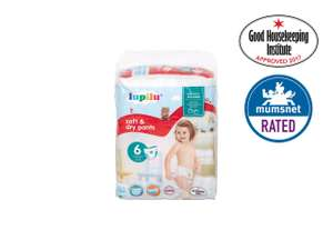 Lupilu Size 6 Extra Large Baby Pants 18 pack £2.04 @ Lidl