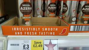 Nescafe Azera online and in store £3 (Tesco)