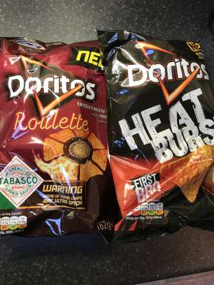 Two large packs of Doritos for £1 in Lidl