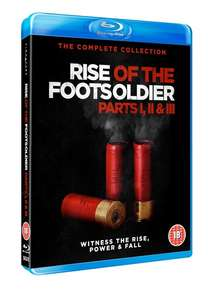 Rise of the Footsoldier Collection [Blu-Ray] 1,2,3