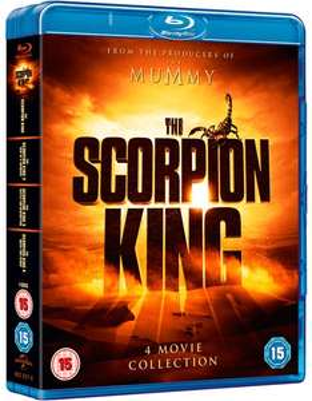 The Scorpion King: 4-movie Collection (Box Set) [Blu-ray]