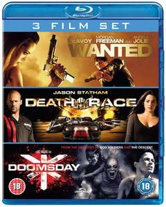 Wanted/Death Race/Doomsday (Box Set) [Blu-ray]