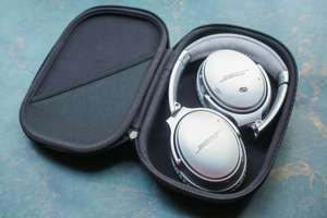 Bose QC35-II-SIL Wireless & NFC Noise Cancelling Headphones in Silver  Inc Free Delivery and 2 year Guarantee for £279.00