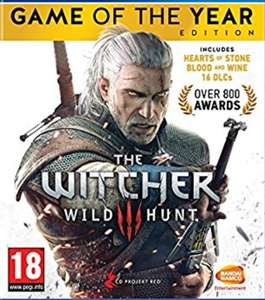 The Witcher 3 Game of the Year Edition (Xbox One -£16) (PS4 - £16.99 prime / £18.98 delivered) @ Amazon