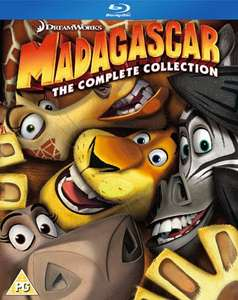 Madagascar 1-3 (Box Set) [Blu-ray] £12 @ Zoom