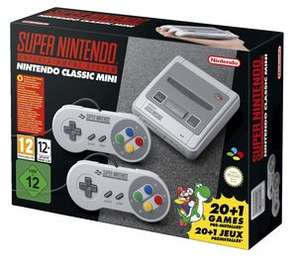 Nintendo Classic Mini SNES Games Console £51.99 delivered (Using code) @ Clas Ohlson