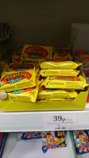 Reeses chocolate egg @ home bargains instore for 39p