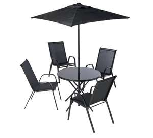 HOME Sicily 4 Seater Patio Set £104.99 at argos
