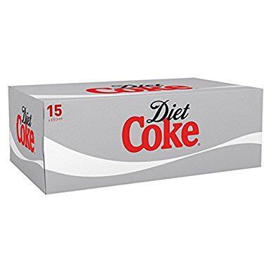 Diet Coke x 15 330ml £2.99 at B&M