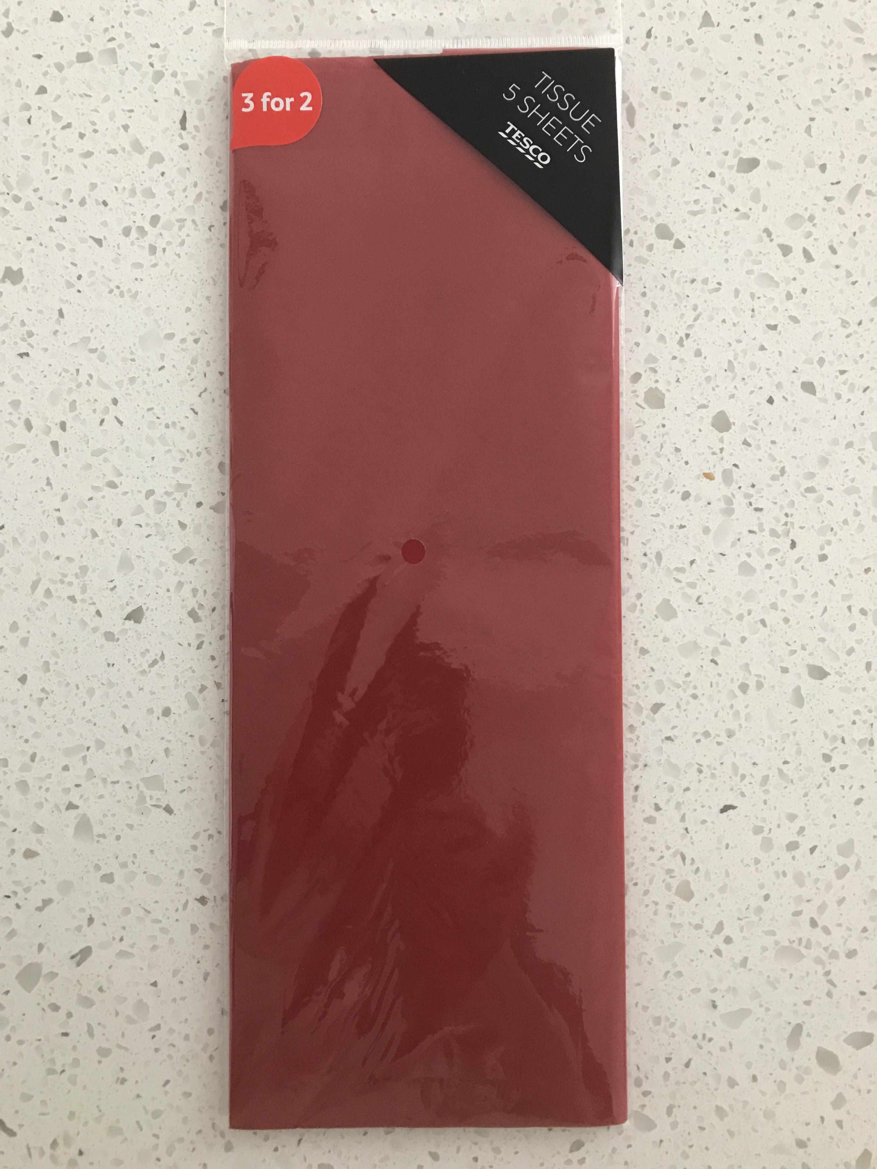 Tesco Tissue Paper scanning at 25p