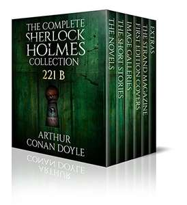 KINDLE Free collection: The Complete Sherlock Holmes Collection: 221B