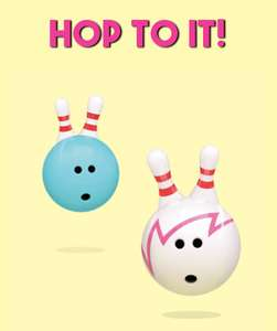 50% off bowling before 10am @ Hollywood bowl this half term