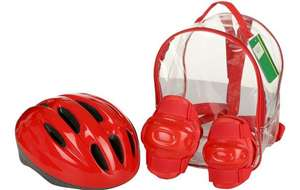 Red Helmet and Pads Backpack £5 @ Halfords