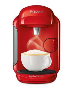 Tassimo By Bosch Vivy 2 Coffee Machine - Black / Red / Cream £39.99 @ Argos