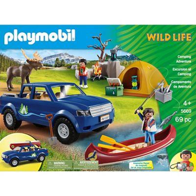 Playmobil - Outdoor Camping Adventure Club Set £25 @ Debenhams - Free c&c