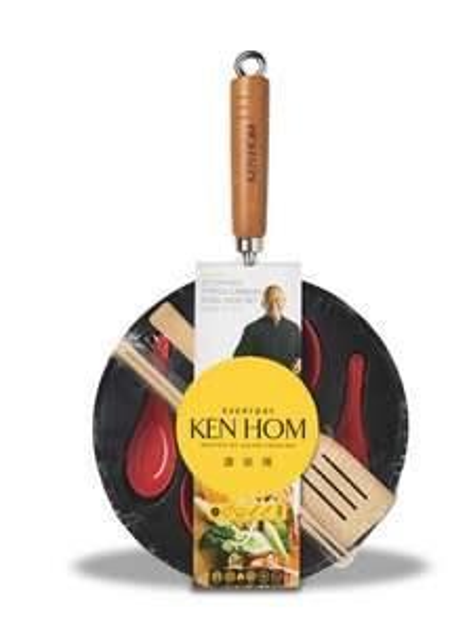 Ken Hom Wok Set £9 @ Debenhams - £2 c&c
