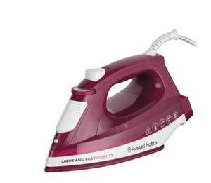Russel Hobbs 2400 Watts Non Stick Base Steam Iron was £39.99 discounted for £16.99 with 3 Years Warranty at Lidl on Sunday 8th April 2018