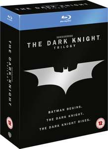 The Dark Knight Trilogy Blu-ray £12.99 / £13.98 delivered @ Zavvi