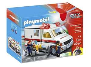 Selected Playmobil Half Price eg City Action Rescue Ambulance now £15 / Playmobil 5682 City Action Fire Engine now £20 / Ice Cream Truck £17.50 C+C @ Tesco Direct