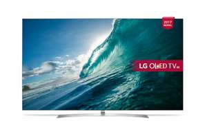 4K OLED TV LG OLED55B7V - £1369 @ Richer Sounds - Price Beat or £1389 @ Peter Tyson