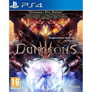 Dungeons III Extremely Evil Edition PS4 £13.99 365games.co.uk