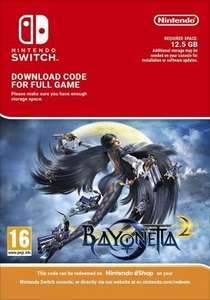 Bayonetta 2 [Nintendo Switch] (download) £36.99 at CDkeys