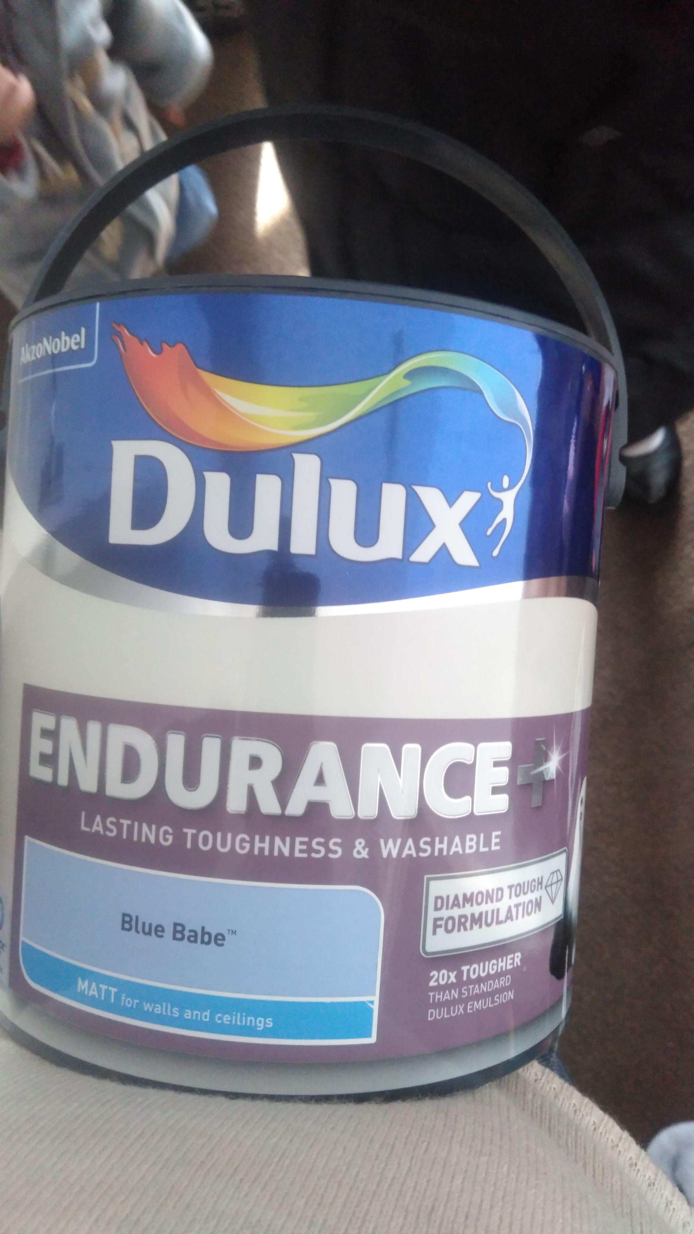 Dulux 2.5l paint - £5 instore @ poundland