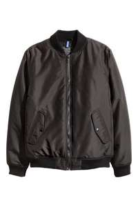 Mens bomber jacket, £12.99 @ H&M (free delivery for H&M Club members / £3.99 non members)