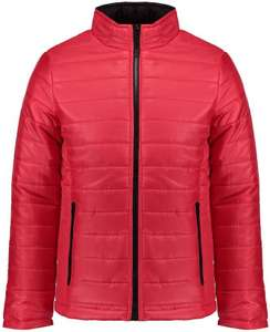 Mens Red Plain Zipper Jacket, was £29.99 now £7 | save £22.99 (77%) + £3.99 delivery @ Blue Inc