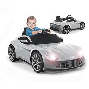James Bond Aston Martin 6V Electric Ride On Car Kids Battery Lights Sounds Toy £107.49 This Is It Famous Value Stores Amazon