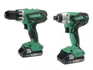 Hitachi KC18DGL(S) Twin Pack 18 Volt 2 x 3.0Ah Li-Ion £179.95 @ DMTools