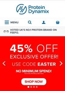 Protein Dynamix - 45% off EVERYTHING