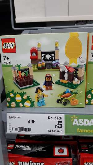 LEGO 40237 Easter Egg Hunt £5 instore @ Asda