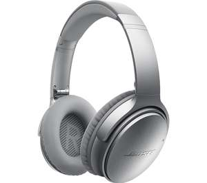 BOSE QuietComfort 35 Wireless Bluetooth Noise-Cancelling Headphones - Silver £137.98 @ Currys