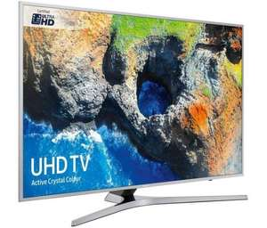 "Samsung MU6400 40"" Smart TV £379.99 @ District Electricals with John Lewis price match"