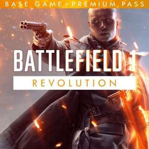 Battlefield 1 revolution plus DLC and preminuim pass all on offer at PS store for ps4 - £15.99